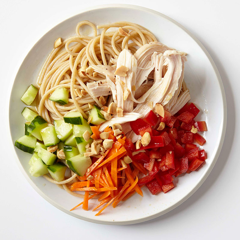 Photo of Sesame Noodle Salad with Chicken and Peanuts  by WW